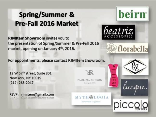 2016 RJMItemshowroom SS & pre-Fall 2016 Evite (12.3.2015)
