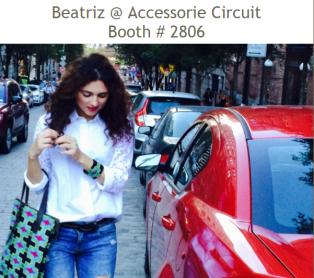Beatriz Accessorie Citcuit Booth
