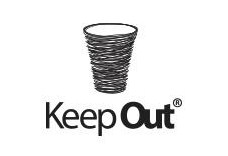 keep out - logo