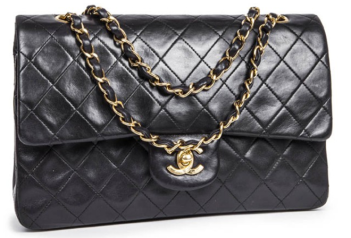 Timeless Chanel Cuir D'agnau Noir