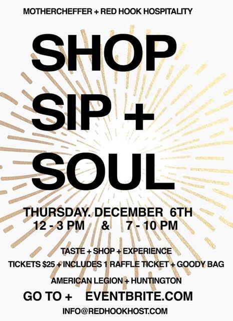 SIP + SHOP + SOUL